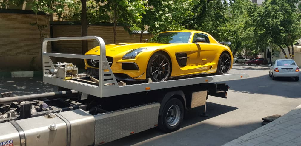 ارسال خودرو به سنندج با کامیونت