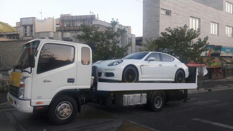 انواع خدمات ارسال خودرو به کرمانشاه