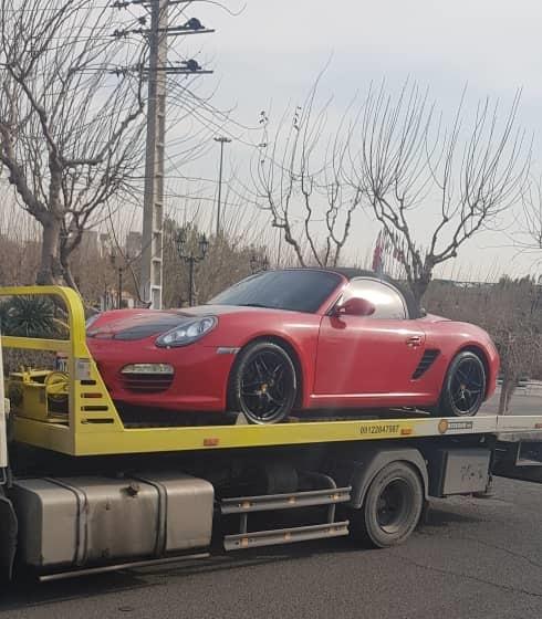 انواع خدمات ارسال خودرو به ارومیه