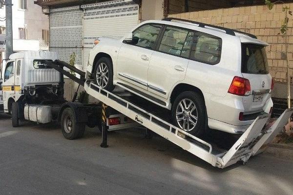 انواع خدمات الوبار برای ارسال خودرو به اردبیل