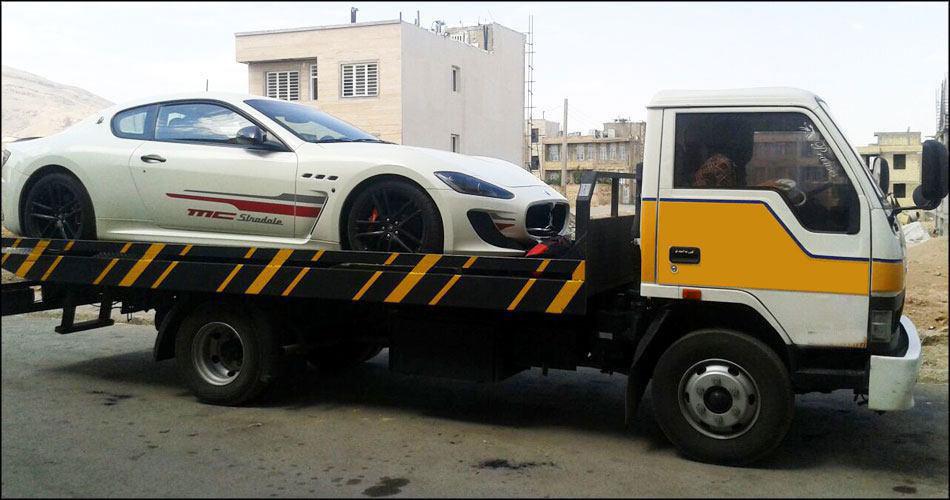 حمل خودرو به زابل با کامیونت تکی