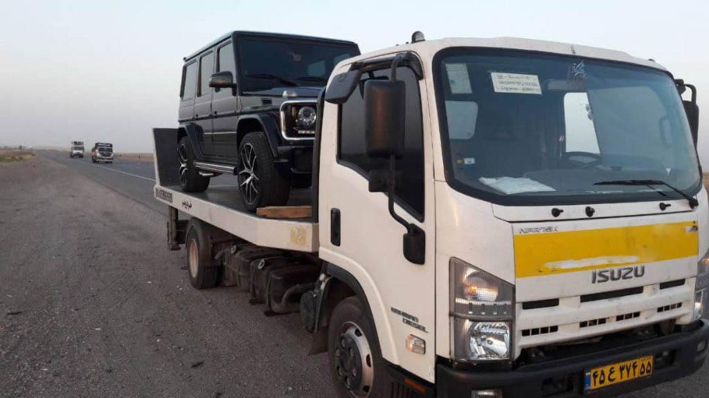 انواع خدمات ارسال خودرو به بندرلنگه