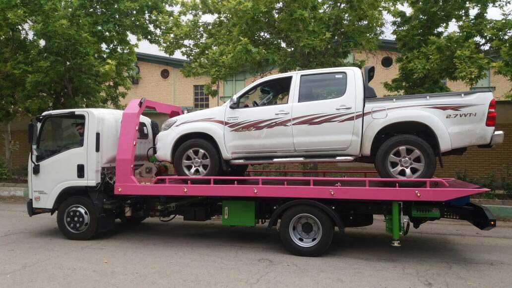 خودروبر ایرانشهر با کامیونت کفی