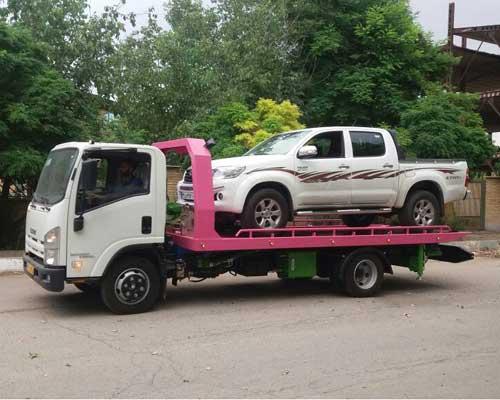 انواع خودروبر جهت حمل خودرو به نوشهر