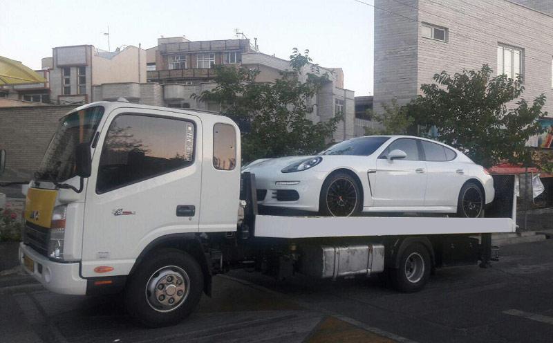 ارسال خودرو به خوزستان با کامیونت تکی