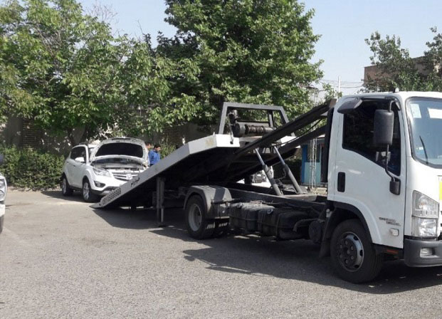 ارسال خودرو به شاهرود با کامیونت کفی