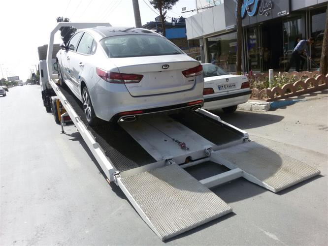 ارسال خودرو به فارس با کامیونت تکی