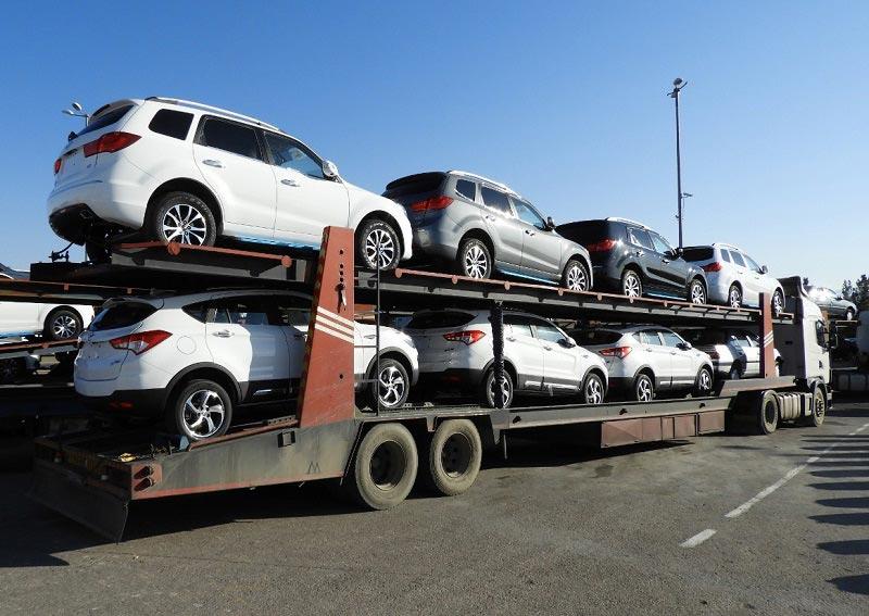 حمل خودرو به آمل با تریلی