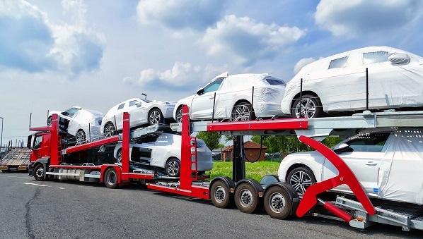 حمل خودرو به خوزستان با تریلی