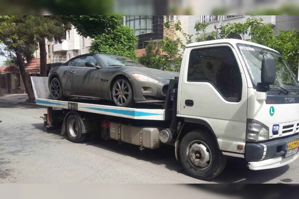 حمل خودرو به سیستان و بلوچستان با کامیونت