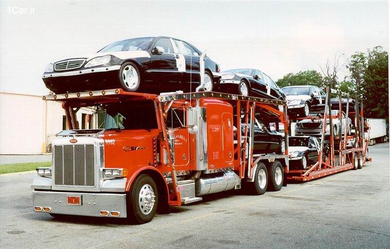 ارسال خودرو به شمال با تریلی