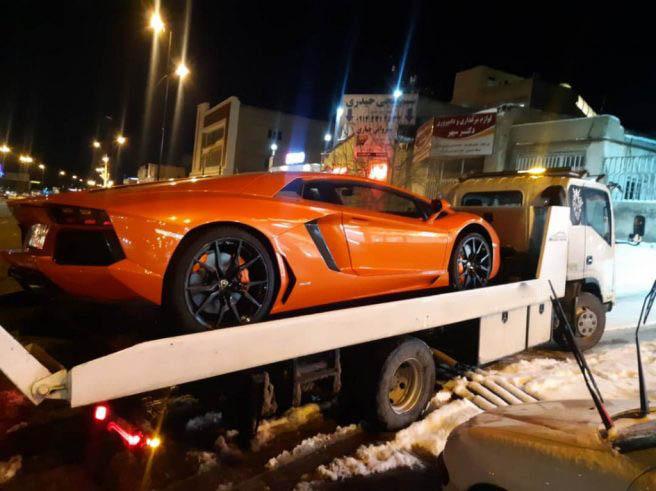 حمل خودرو به لاهیجان