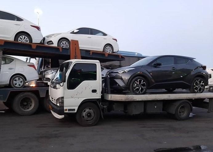 ارسال خودرو به مازندران با کامیونت تکی