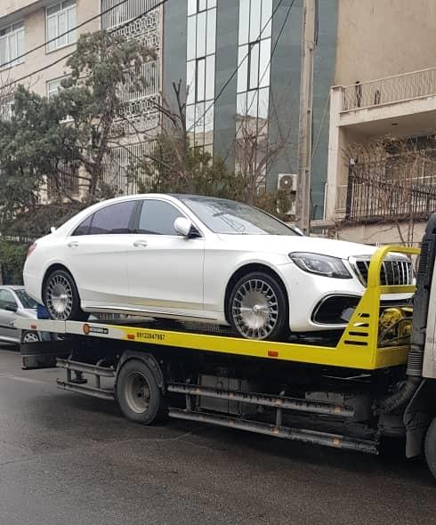 حمل خودرو به محمودآباد با کامیونت تکی