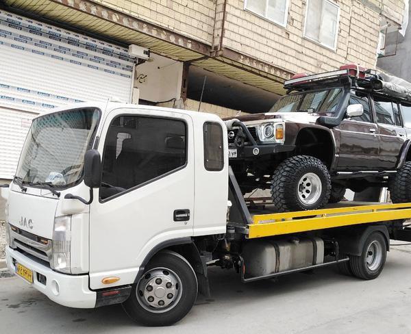 ارسال خودرو به نور با کامیونت تکی