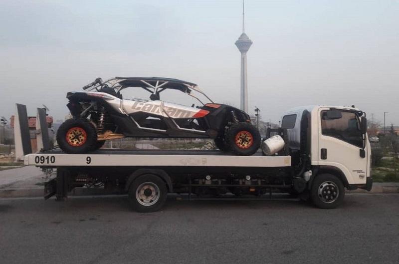 انواع خدمات ارسال خودرو به کردستان