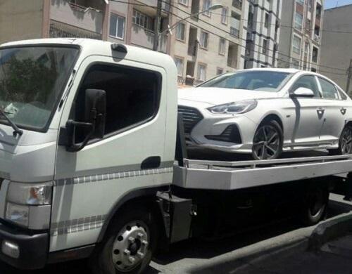 حمل خودرو به کازرون با بارنامه دولتی