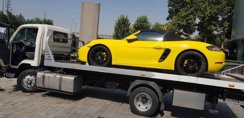 ارسال خودرو به شهرضا با کامیونت کفی