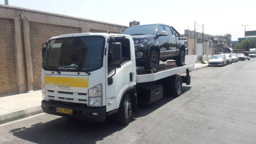انواع خدمات ارسال خودرو به ساوه