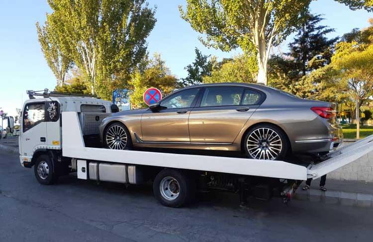 انواع خدمات ارسال خودرو به قصر شیرین