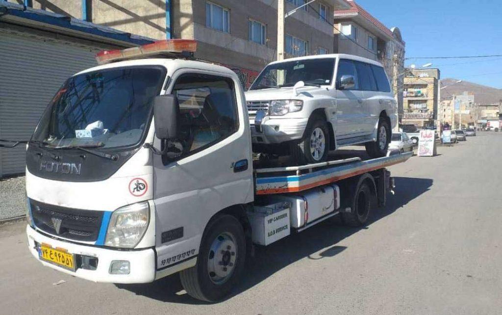 انواع خدمات ارسال خودرو به مریوان