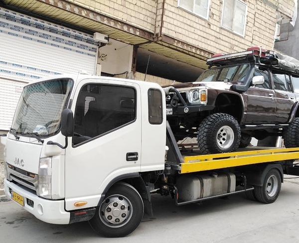 انواع خدمات ارسال خودرو به پاوه