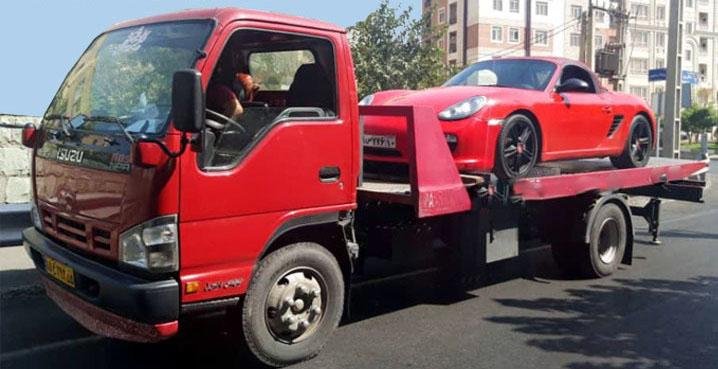 انواع خدمات ارسال خودرو به آباده