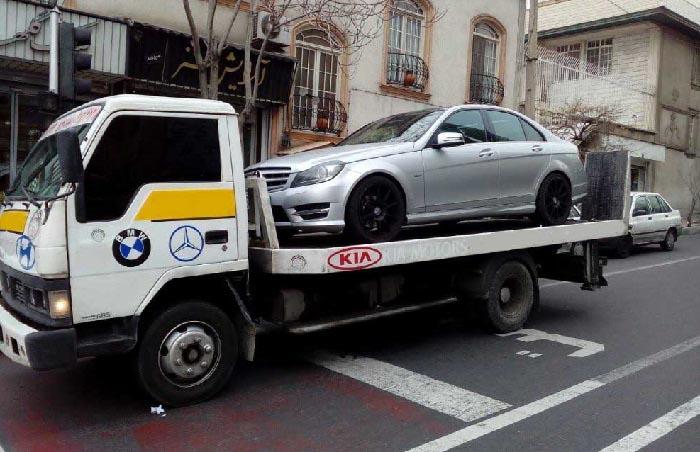 انواع خدمات ارسال خودرو به بروجن