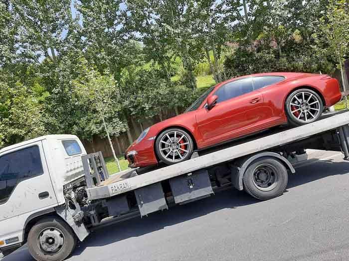 انواع خدمات الوبار برای ارسال خودرو به الیگودرز