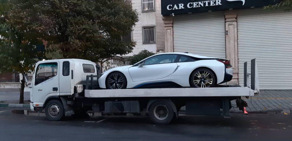 انواع خدمات الوبار برای ارسال خودرو به مراغه