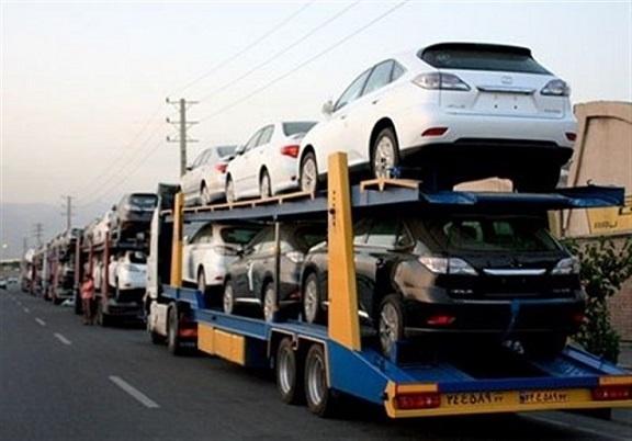تعداد خودروها و تاثیر آن در هزینه ارسال خودرو شهرستان