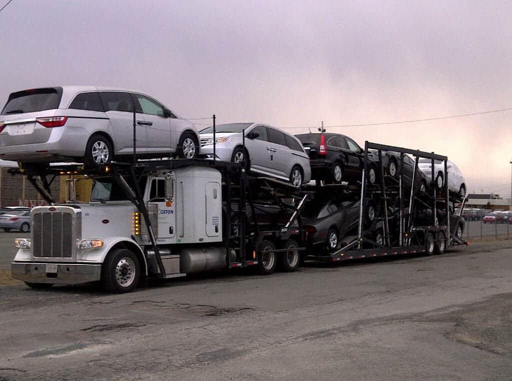 حمل خودرو به سبزوار با تریلی کفی