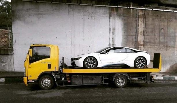 حمل خودرو به مریوان با پیشرفته ترین خودروبرها