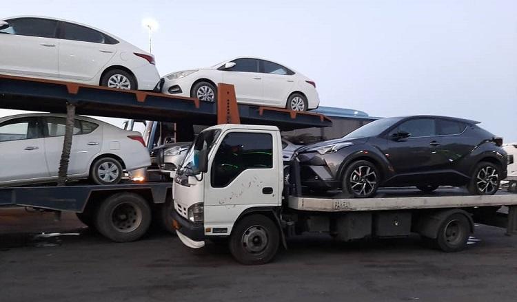 حمل خودرو متل قو با بیمه نامه معتبر
