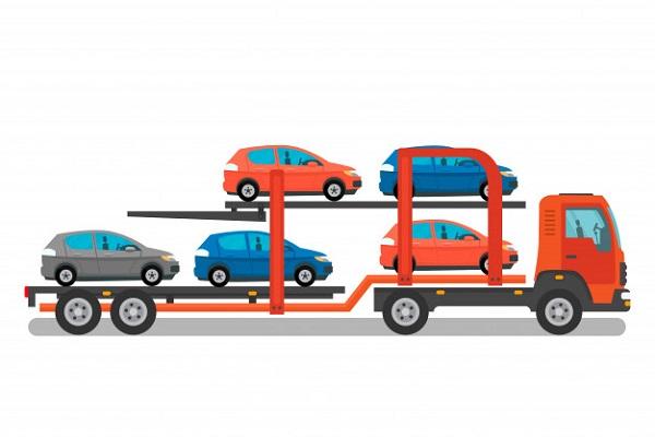 حمل خودرو به گلپایگان همراه با بارنامه دولتی