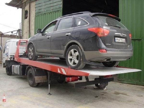 حمل خودرو به ملایر